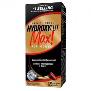 HYDROXYCUT MAX! FOR WOMEN 120 CAPS
