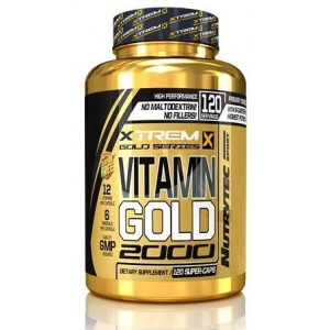 VITAMIN GOLD 2000 120 CAPS