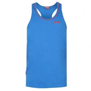 CAMISETA MUSCLE BLUE SLAZENGER