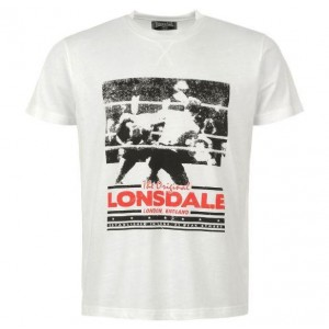 CAMISETA LONSDALE BOXING FIGHT