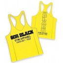 CAMISETA GYM TANK GYM AMARILLO