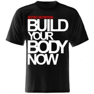 CAMISETA BUILD YOUR BODY NOW