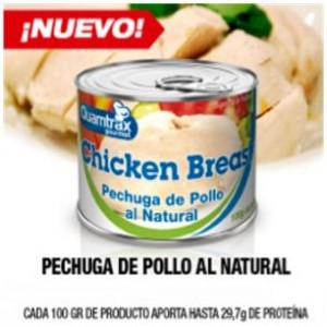 CHICKEN BREAST POLLO 10 X 100 GR