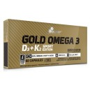 GOLD OMEGA 3 D3 + K2 SPORT EDITION 60 CAPS