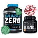 ISO WHEY ZERO 2,27 KG + BLACK BLOOD CAF+
