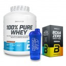 100% PURE WHEY 2,27 KG + BCAA ZERO VARIETY PACK 180 GR