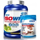 ISOWHEY 2,27 KG + 100% WHEY PROTEIN 500 GR