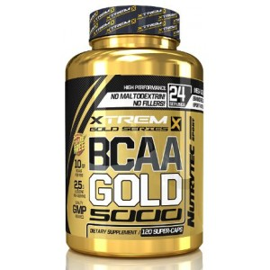 BCAA GOLD 5000 120 CAPS